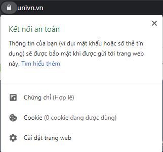 univn.vn là kết nối an toàn