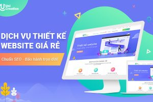 Dịch vụ thiết kế website giá rẻ tại Hà Nội, bảo hành trọn đời!