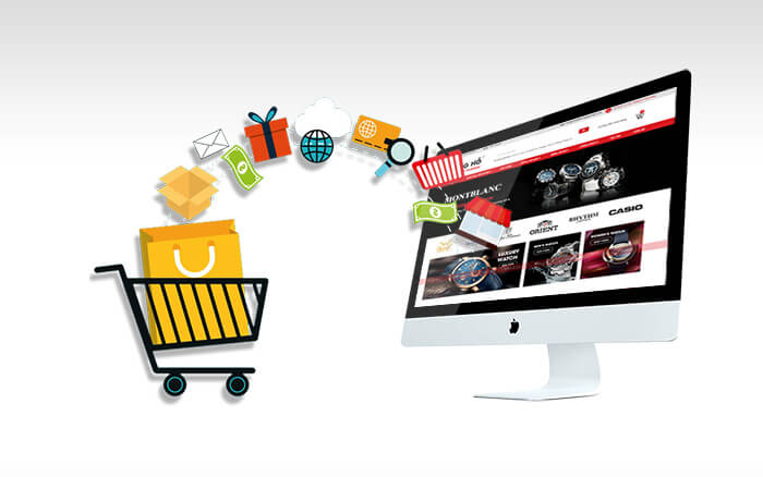 Thương mại điện tử thúc đẩy mua sắm online