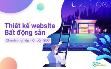 Thiết kế website bất động sản đẹp, chuyên nghiệp, chuẩn SEO, giá rẻ!