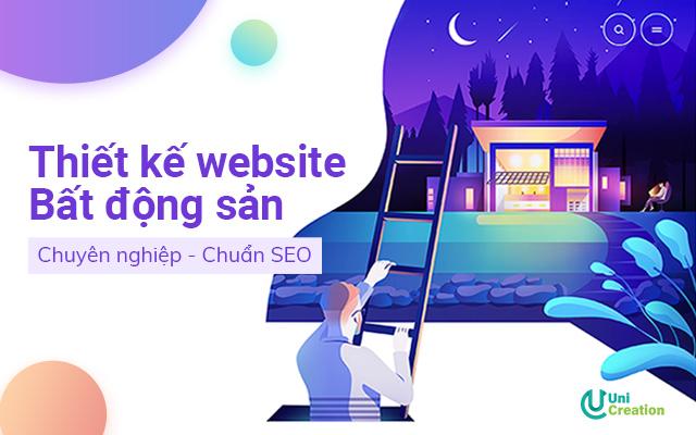 dịch vụ thiết kế website bất động sản chuẩn SEO