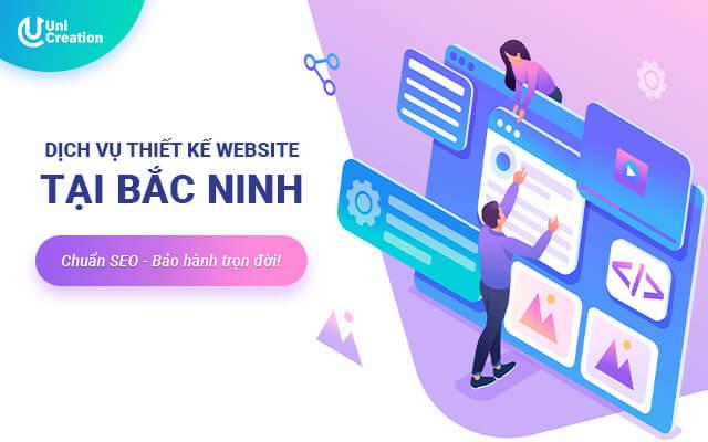 Dịch vụ thiết kế website giá rẻ tại Bắc Ninh