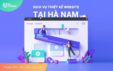 Dịch vụ thiết kế website tại Hà Nam