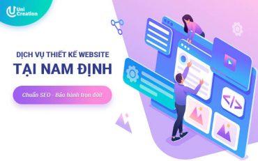 Dịch vụ thiết kế website tại Nam Định