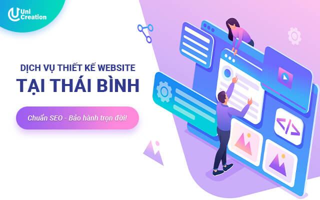 Dịch vụ thiết kế website tại Thái Bình