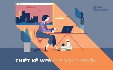 Dịch vụ thiết kế website đọc truyện online