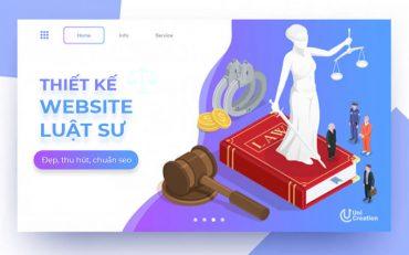 Thiết kế website công ty luật sư
