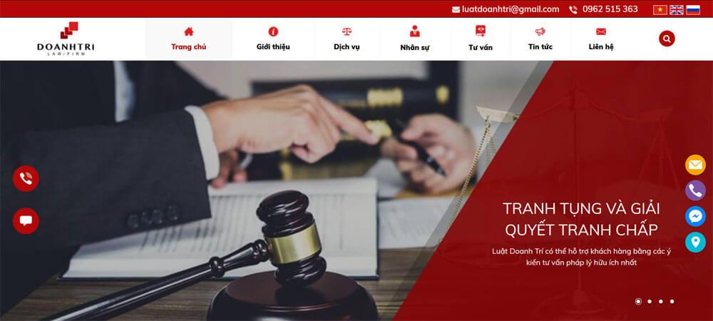 Thiết kế website công ty luật hay văn phòng luật mang lại nhiều lợi ích cho doanh nghiệp
