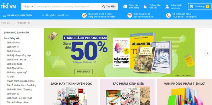 Website bán sách online