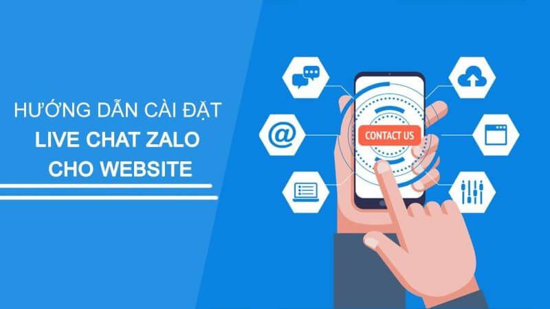 Hướng dẫn tích hợp ứng dụng Zalo vào website