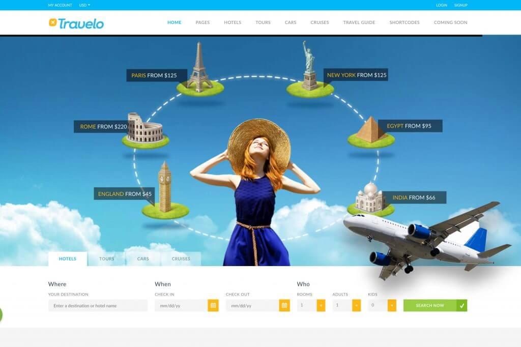 Mẫu website bán vé máy bay đầy đủ chức năng