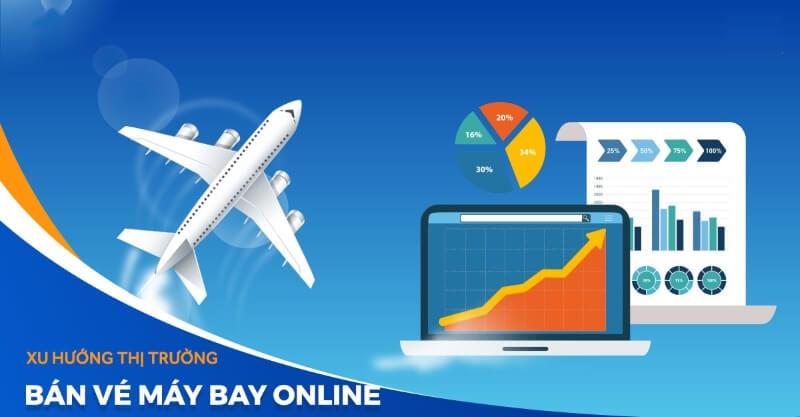 Xu hướng bán vé máy bay trên website