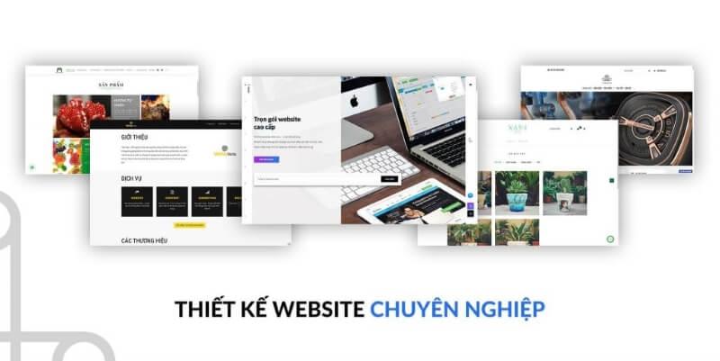 Thiết kế website chuyên nghiệp để đồng bộ website với thương hiệu