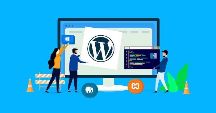 Tạo website miễn phí với WordPress